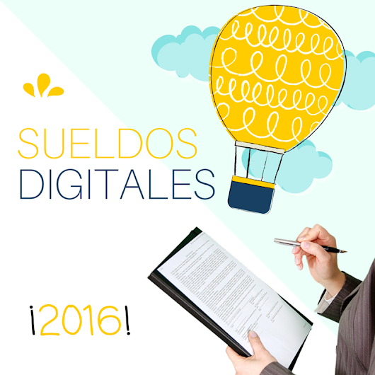 Sueldo Digital 2016: ¡Salario Digital en Marketing y Ventas!