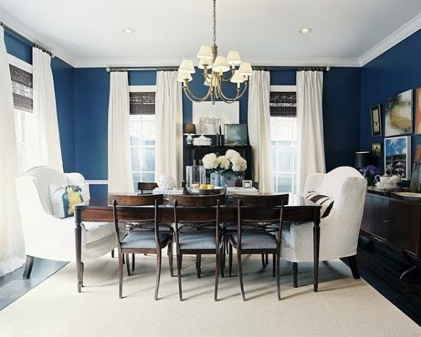 Janelle McCulloch's Library of Design: Feeling Blue: Why Navy Interiors Reflect Our Mood