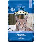 Blue Buffalo Blue Wilderness Adult Indoor Chicken Recipe Dry Cat Food, 11 lbs.