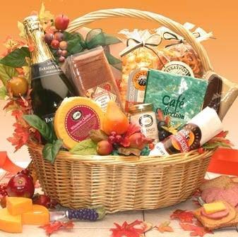 Thanksgiving Gourmet Gift Basket
