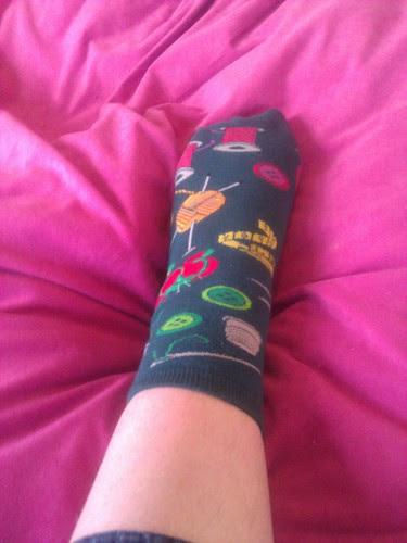 Sewing socks