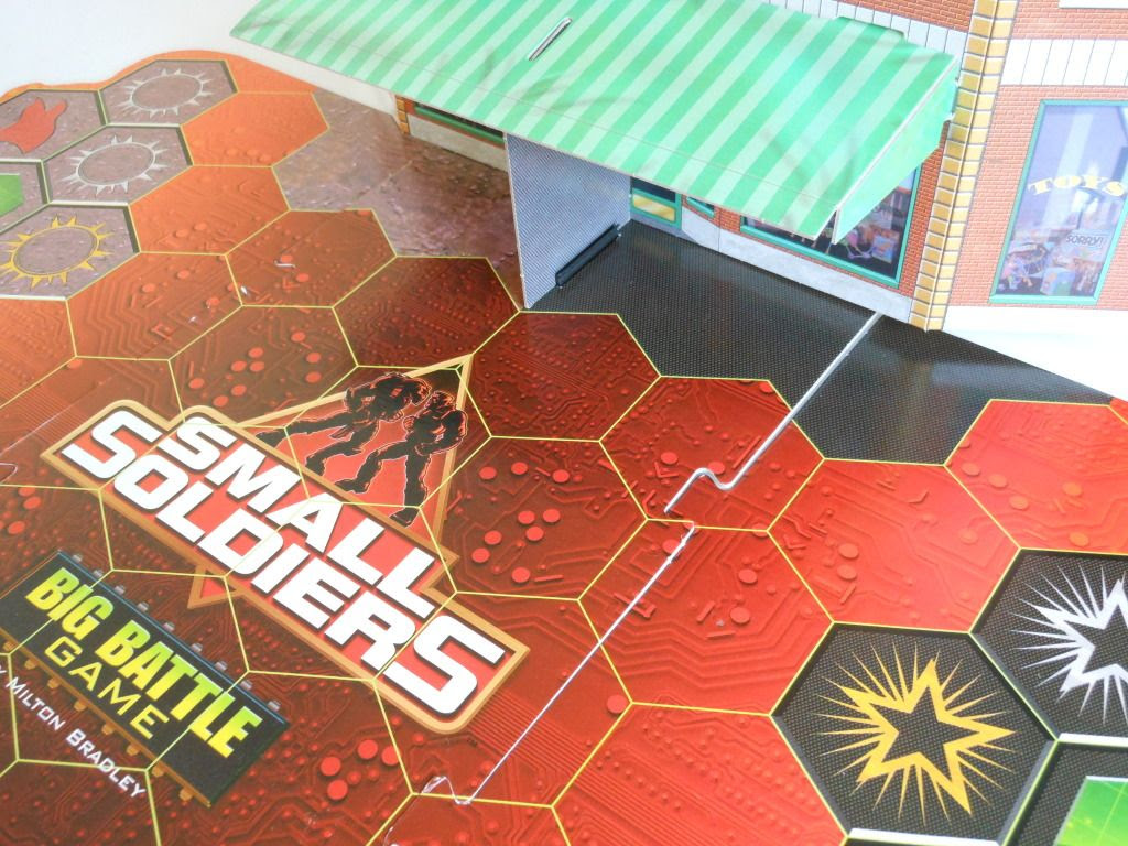 Small Soldiers: Big Battle Game - board