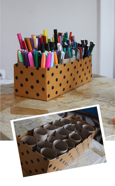 How To Organize Adult Coloring Supplies