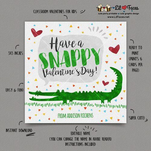 DOWNLOAD - EDITABLE Valentine