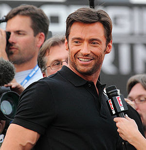 Jackman at the X-Men Origins: Wolverine premie...