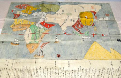 Asahicom朝日新聞社江戸時代初期の世界地図 山口大