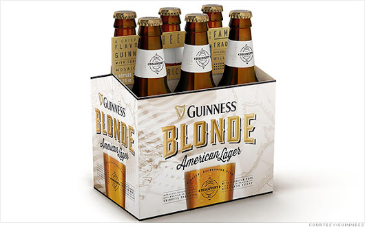 Guinness to sell American style lager in U.S. market