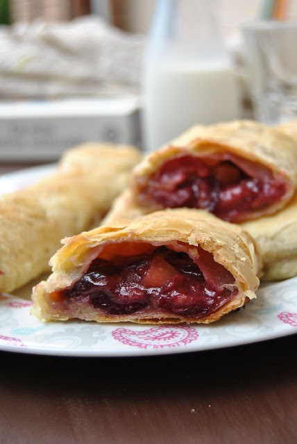 Apple and Cherry Strudel