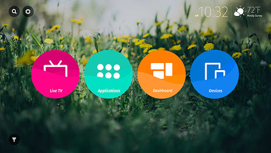 Firefox OS TV User Interface & Animation Design