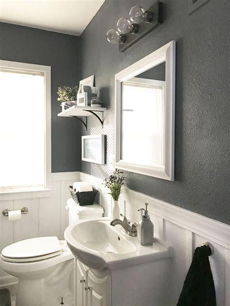 lively ways  add life   gray bathroom helena source