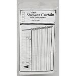 Light Gauge Vinyl Shower Curtain