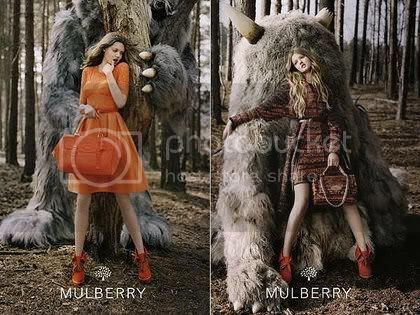 Mulberry's Fall 2012 Ad Campaign