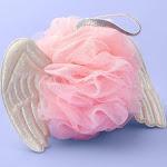 Angel Wings Mesh Sponge - More Than Magic Pink