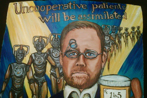 Uncooperative Patients will be assimilated.