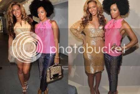 Pregnant Beyonce on Fashion Week