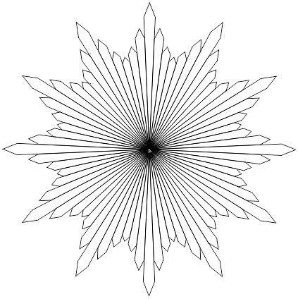buat logo muhammadiyah dg menu polygon tool belajar
