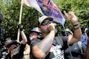 What is the right-wing group Patriot Prayer linked to Portland confrontations and who is Joey Gibson?