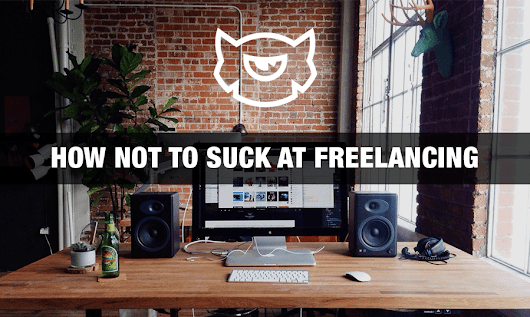 How Not To Suck at Freelancing [TemplateMonster Educational Cards]