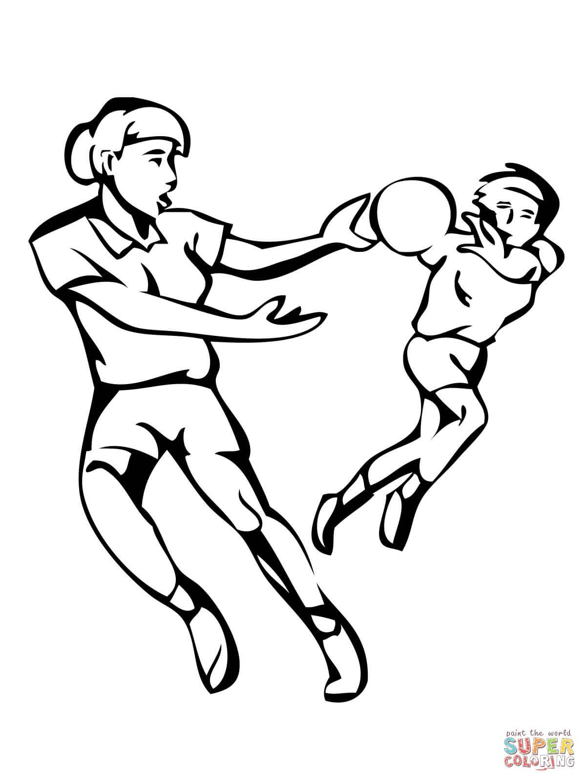 Klick das Bild Handball Match
