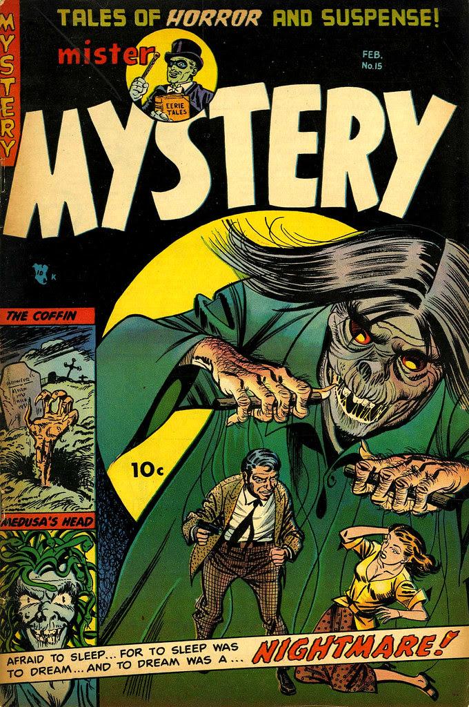 Mister Mystery #15 (Aragon, Magazines, Inc. 1954)
