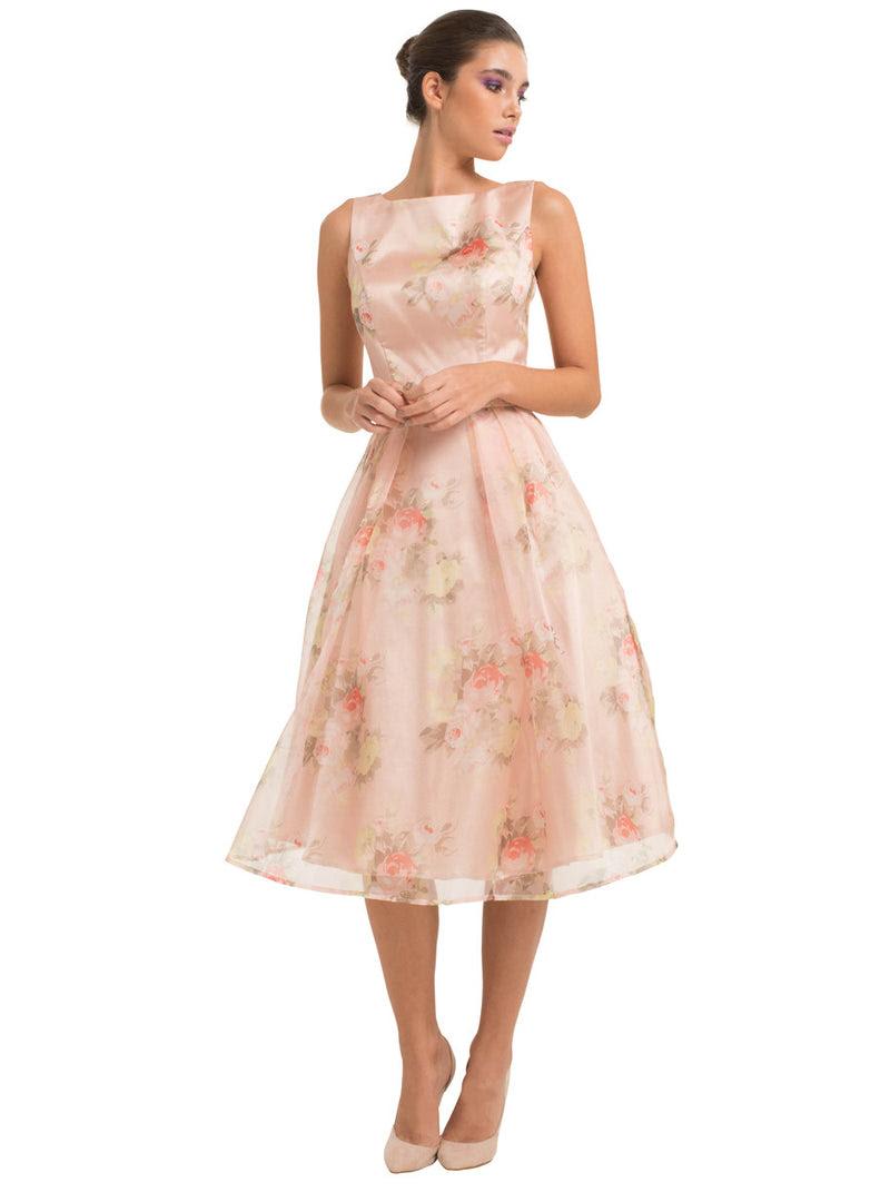 chi chi amya dress  wedding guest dresses  floral midi
