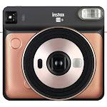 Fujifilm Instax Square SQ6 Instant Film Camera, Blush Gold