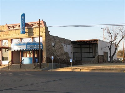 The Last Picture Show Royal Theater Archer City Texas Vintage