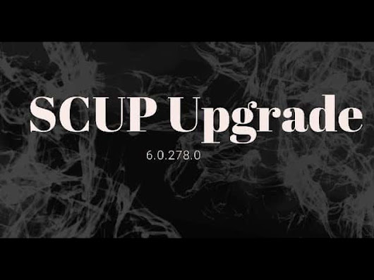 Learn How to Perform SCUP Upgrade without Removing Existing SCUP