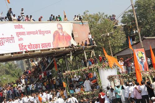 Saheb  Tumchya Janyane Hindustan Ani Hindu Porkha Zala ,, Tribute on a Banner by firoze shakir photographerno1
