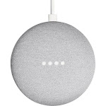 Google Home Mini Smart Speaker with Google Assistant, Chalk