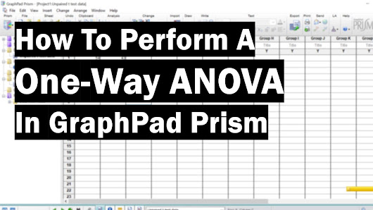 How To Perform A One-Way ANOVA In GraphPad Prism - Top Tip Bio