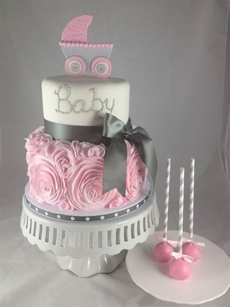 Baby Shower Cake Ideas This would be easy to make into a