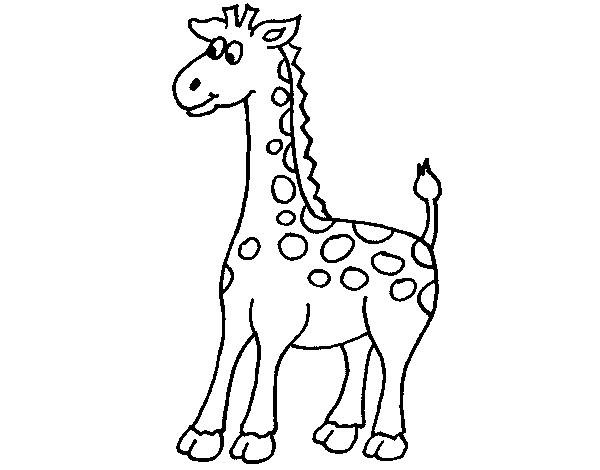 Dibujo De Jirafa 5 Pintado Por Merlu En Dibujos Net El Dia 06 02 14