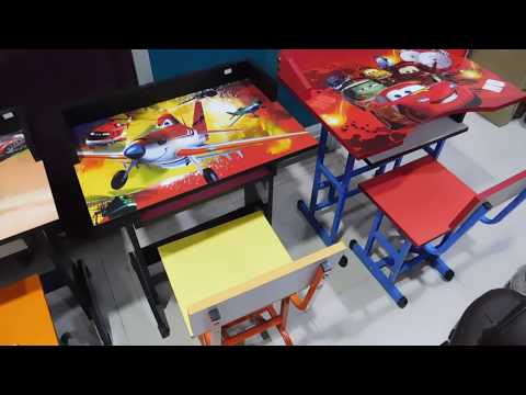 Study Table with Chair For Kids | Printed Writing Table |baby furniture online india | Kids furniture