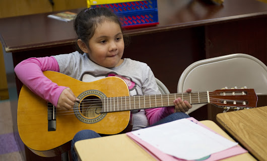 There's New Evidence That Music Lessons Boost Kids' Cognitive Skills