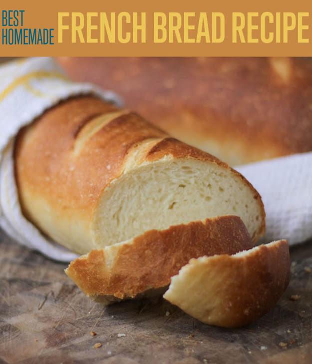 The Easiest Best French Bread Recipe - iSeeiDoiMake