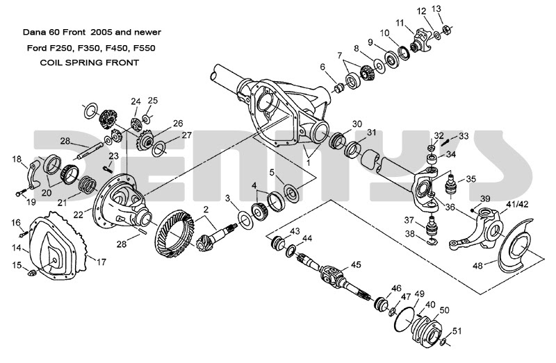 2005 Ford F150 Parts Diagram