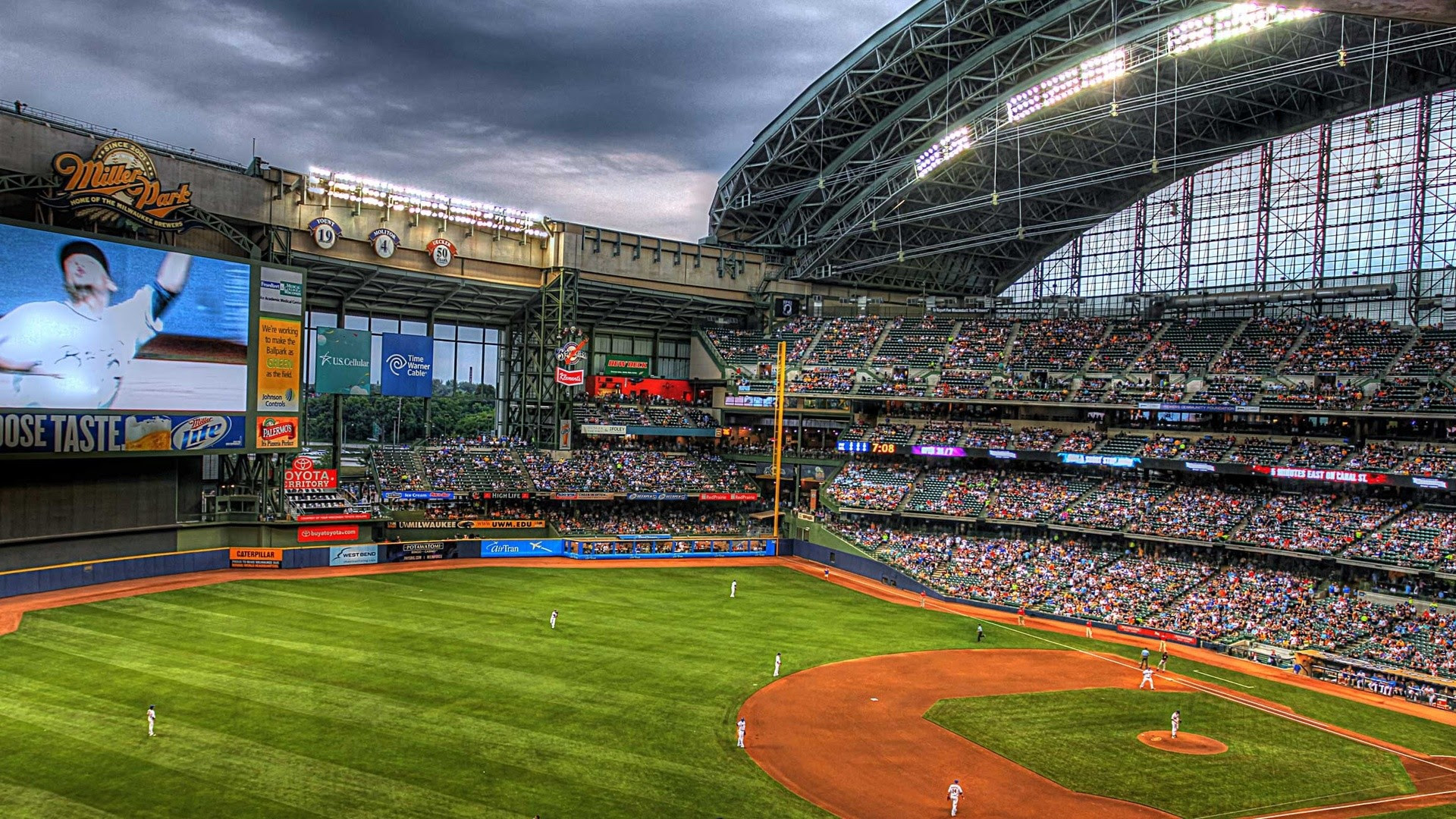 Baseball Stadium Wallpaper 44 Images