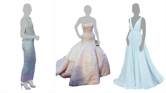 Guess from the dress: A cutout quiz straight from the Academy Awards red carpet