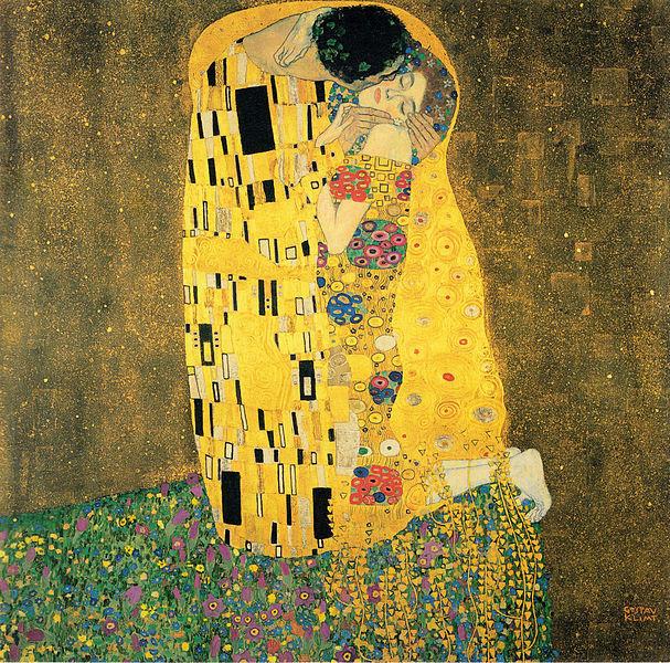 File:Klimt - Der Kuss.jpeg