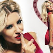 She's a sweetheart! Mollie King dons little red dress for a good cause as she fronts health charity campaign