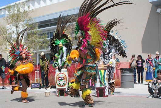Aztec Dancers Wow the Crowd at Gathering of Nations