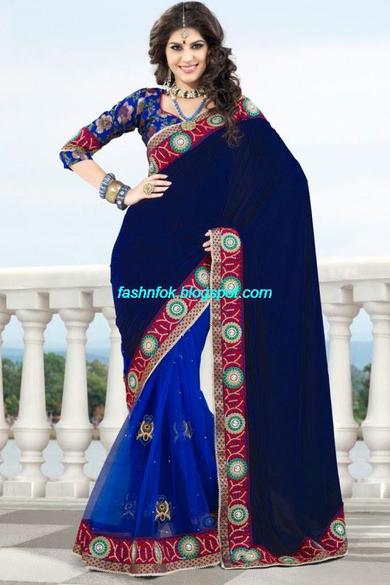 Indian-Brides-Bridal-Wedding-Fancy-Embroidered-Saree-Design-New-Fashion-Hot-Sari-Dress-4
