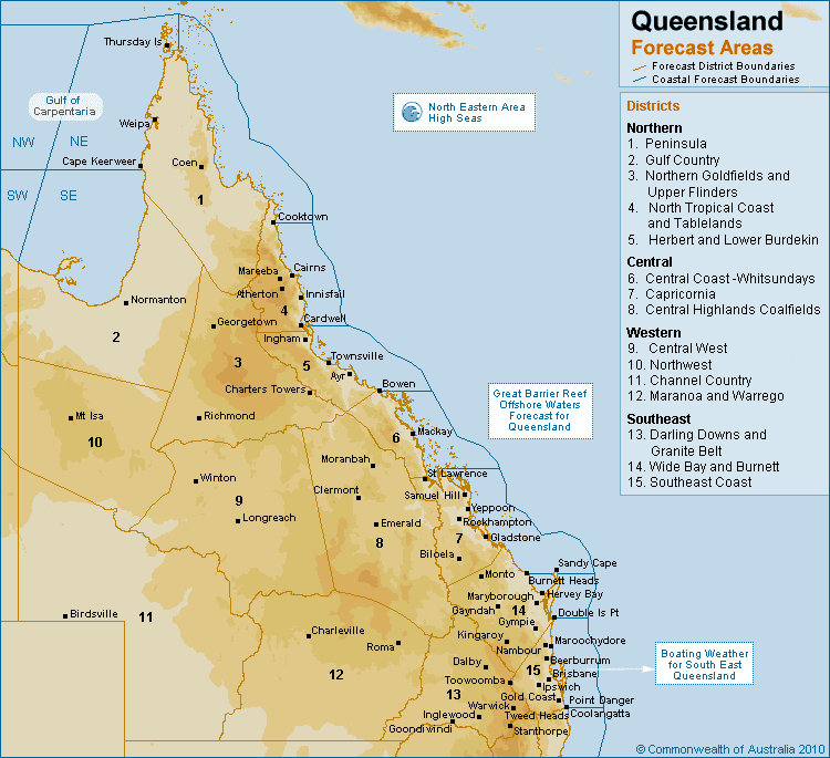 gold coast queensland map. Click on the relevant map area