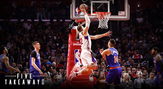 Five Takeaways: From the Clippers' Commanding Win Over the New York Knicks | LA Clippers
