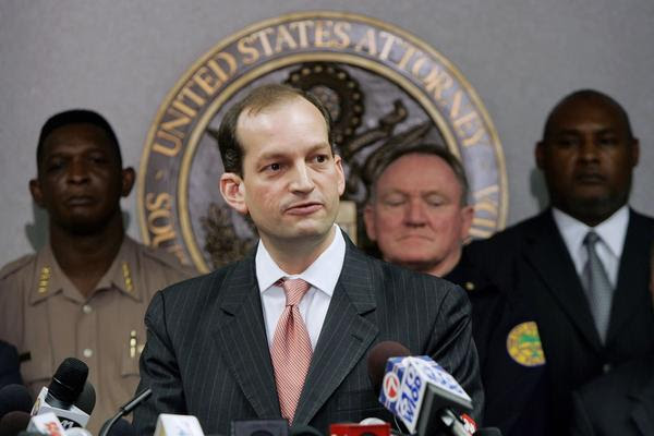 R. Alexander Acosta, President Trump's choice for Labor secretary. (Joe Raedle / AFP / Getty Images)