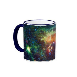 Tadpole Nebula, Auriga Constellation Coffee Mugs