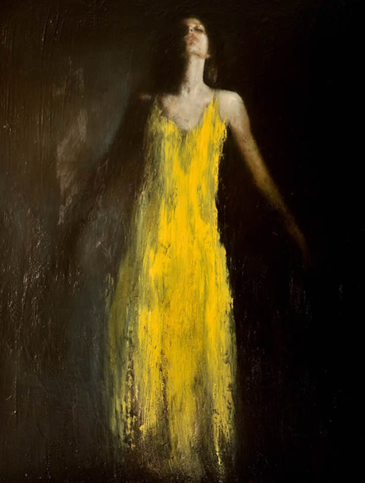 Oil Painting Mark Demsteader