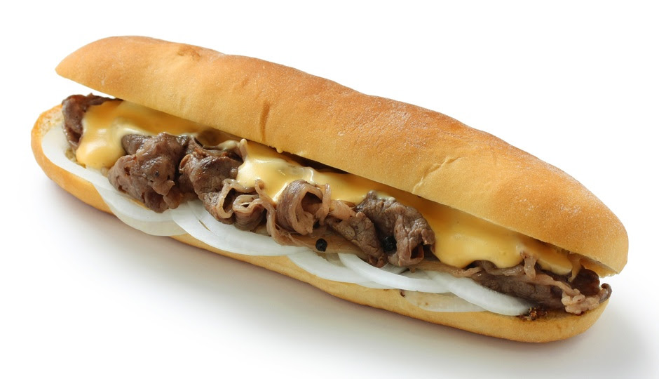 how many calories is a cheesesteak