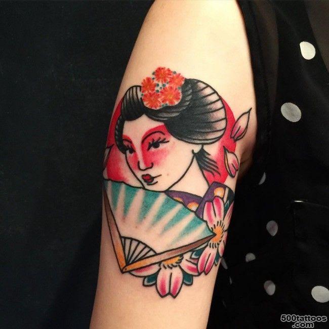 Geisha Tattoo Photo Num 17300